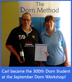 300th Dorn Method Student