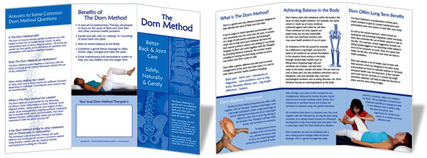 Dorn Method Leaflets
