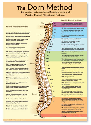 Spinal Therapy Dorn Poster